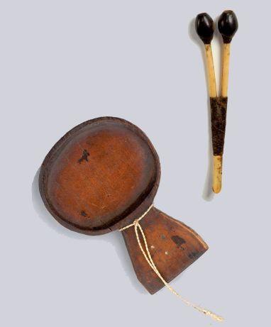 Plato e inhalador de yopo-Museo del Oro